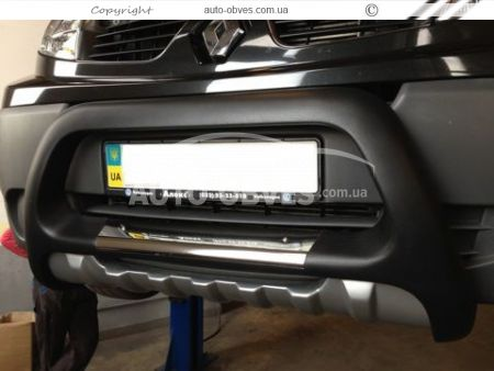 Front bar Opel Vivaro / Nissan Primastar from polyurethane photo 4