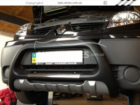 Front bar Opel Vivaro / Nissan Primastar from polyurethane photo 2