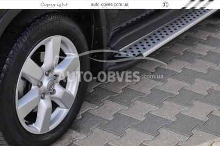 Steps lateral profile for Lexus RX style BMW X5 photo 4