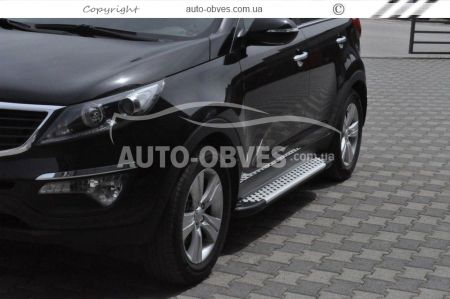 Overlays for door handles Kia Sportage, ABS plastic photo 2
