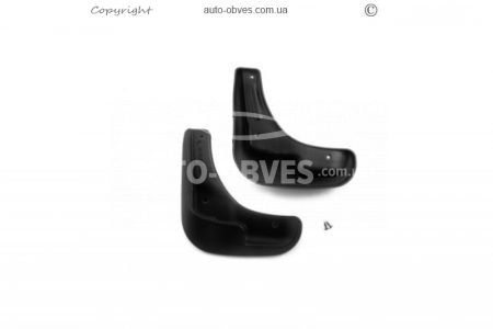 Mudguards Citroen C-Elysee 2 pieces front photo 0