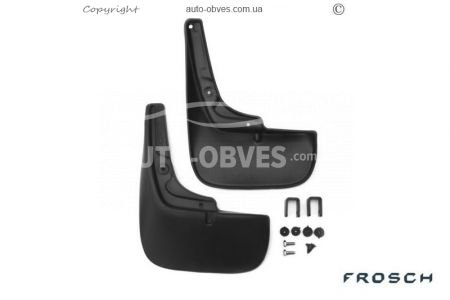 Mudguards Fiat Ducato 2006-2014 (with arch expander) (polyurethane) rear photo 0