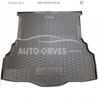 Trunk mat Ford Mondeo sedan 2015 -... polyurethane photo 0
