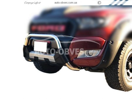 Front bar Nissan NV300 2016 -... stainless steel + polyurethane photo 0