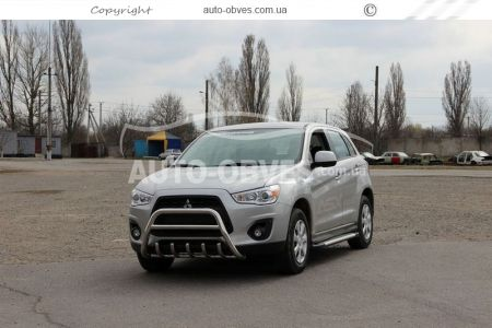 Front bar on Mitsubishi ASX 2013 - 2016 (pr. AR) photo 3