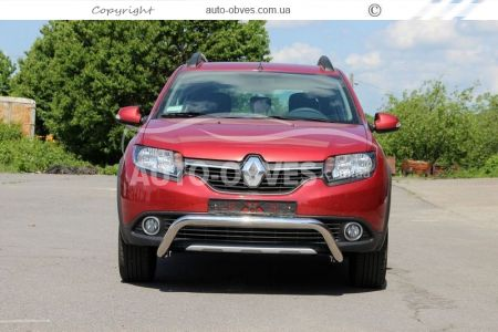 Bumper protection for Sandero Stepway U-shaped photo 2