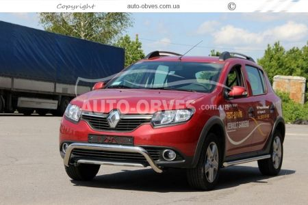 Bumper protection for Sandero Stepway U-shaped photo 1