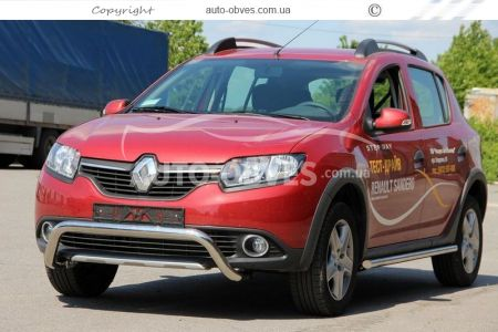 Bumper protection for Sandero Stepway U-shaped photo 3