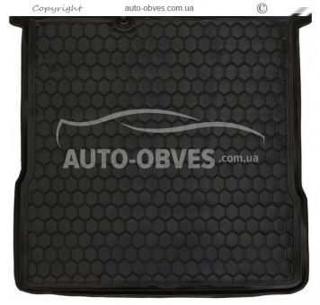 Trunk mat Chevrolet Aveo sedan 2012-2016 polyurethane photo 0