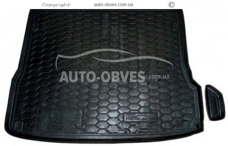 Trunk mat Audi Q5 8RB 2008-2016 polyurethane photo 0