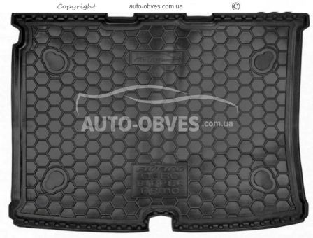 Trunk mat Fiat Fiorino (Qubo) polyurethane photo 0
