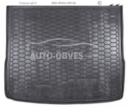 Trunk mat Ford Focus II 2005-2008 station wagon polyurethane photo 0