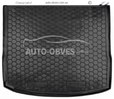 Trunk mat Ford Focus III FL 2016-2018 station wagon (with dokatkoy) polyurethane photo 0