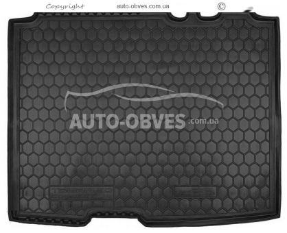 Trunk mat Ford Tourneo Connect 2014-… short base polyurethane photo 0