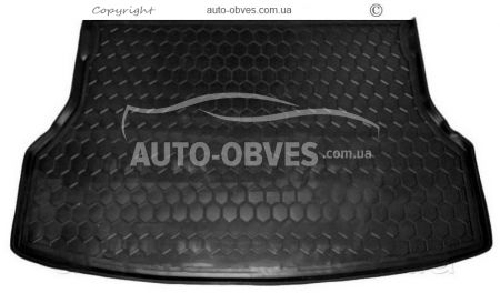 Trunk mat Geely Emgrand X7 polyurethane photo 0