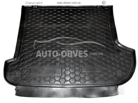 Trunk mat Great Wall Haval H3 polyurethane photo 0
