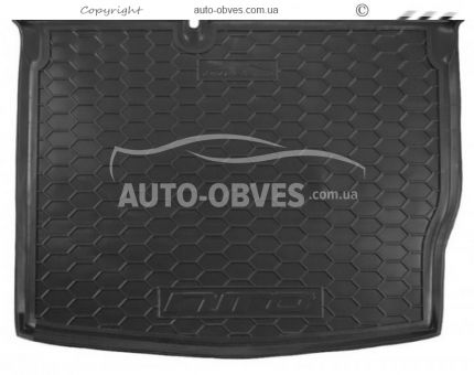 Trunk mat Kia Niro polyurethane photo 0