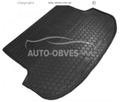 Trunk mat Kia Sorento XM FL 2013-2016 5 seats polyurethane photo 0