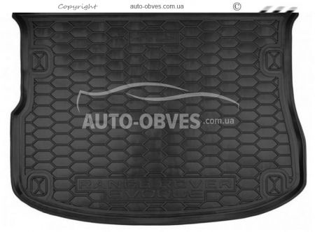 Trunk mat Land Rover Range Rover Evogue 2015-2020 polyurethane photo 0