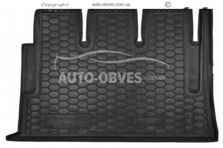 Trunk mat Mercedes Viano 2003-2010 long polyurethane base photo 0