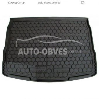 Trunk mat Nissan Qashqai 2014-2017 polyurethane photo 0