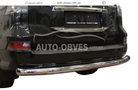 Rear bumper protection Lexus GX460 2013 - ..., straight pipe photo 0