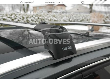 Crossbeams for integrated railings Ford Kuga 2020 -... manufactured by CanOto photo 1