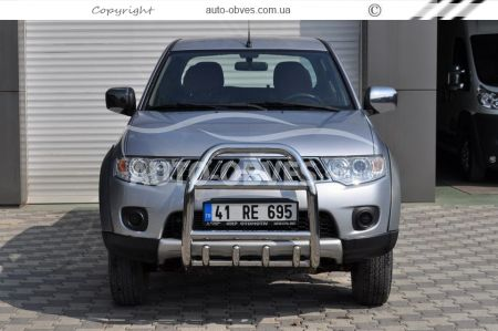 Front bar tall Mitsubishi L200 / Pajero Sport photo 3