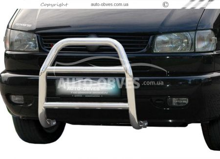 Front bar high for Volkswagen T4 (Transporter / Caravelle) without grill photo 0