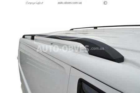 Roof rails black on a roof Peugeot Expert 1998 - 2007, fastening metal photo 0