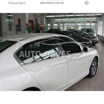 Side window deflectors for Honda Accord 2012-2014 -... photo 2
