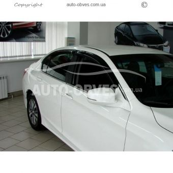 Side window deflectors for Honda Accord 2012-2014 -... photo 1