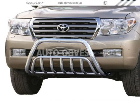 Front bar reinforced Toyota Land Cruiser 200 2007 - 2016 photo 0