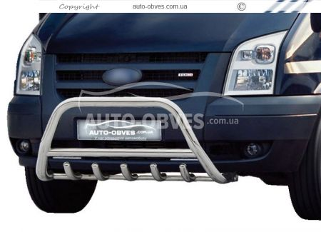 "Front bar ""Griffon"" for Ford Transit 2006-2014 (pr. WT) photo 0"