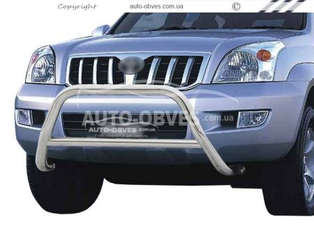 Front bar lighter without grill Toyota Prado 120 2003 - 2008 фото 0